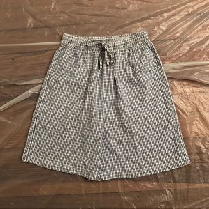 High Waisted Vintage 90s Cotton Shorts